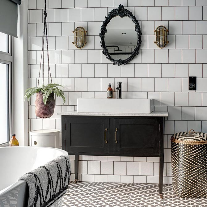 colour combinations for bathroom