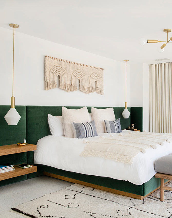 bedroom colour combinations