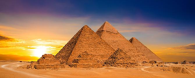 着名的地标金字塔