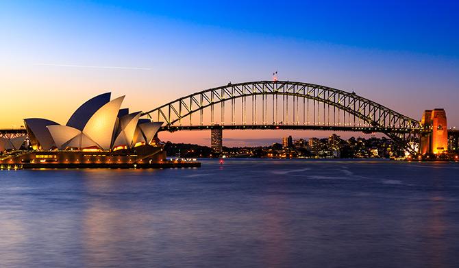 澳大利亚着名的地标