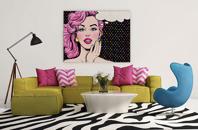 maximalism with pop art